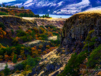 Columbia Gorge at Mosier OR